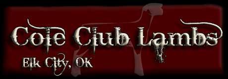 Cole Club Lambs
