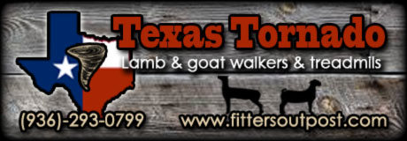 Texas Tornado - Lamb and Goat Walkers and Treadmills